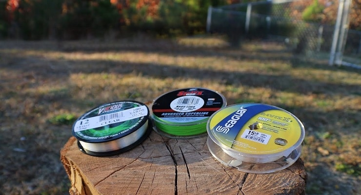 Three Packs Of Fishing Lines