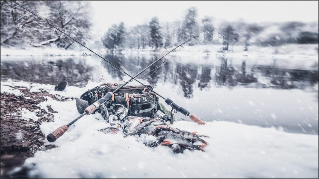 Fishing During The Winter