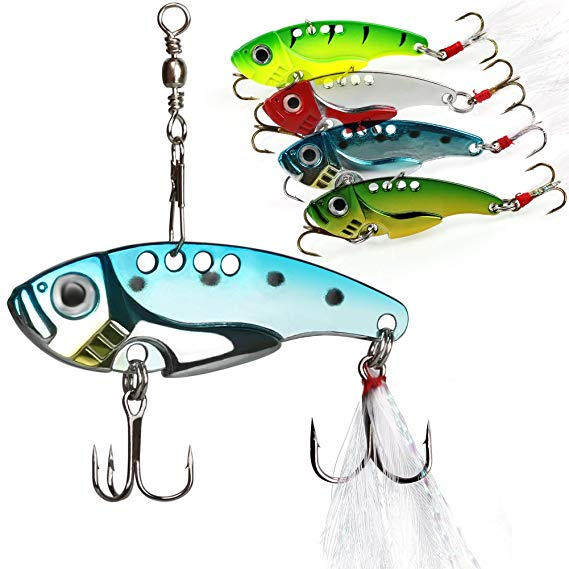 Sougayilang Spinner Spoon Lures and Baits