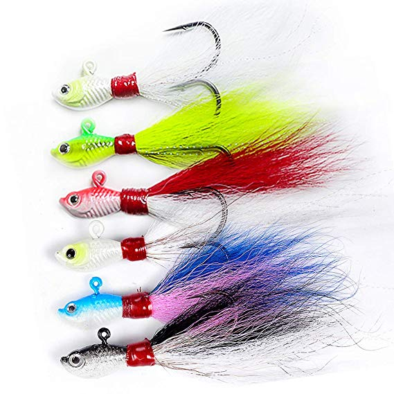 Dr. Fish Bucktail Jig Fluke