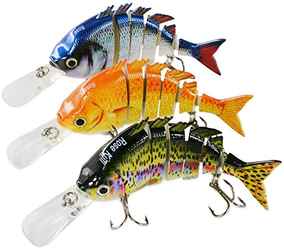 ROSE KULI Multi-Jointed Swimbaits