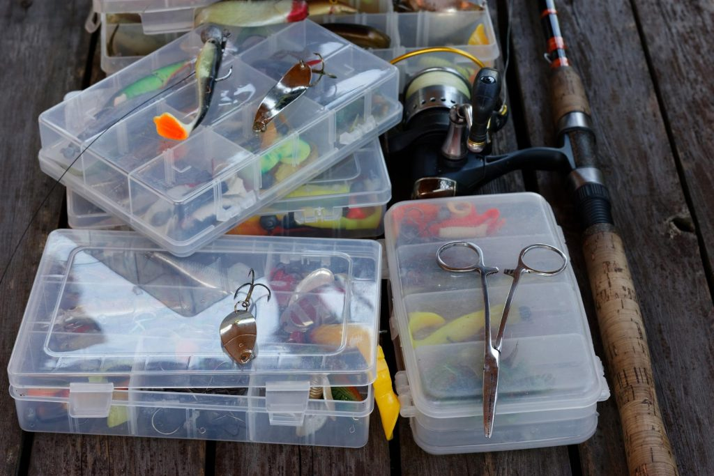 Fishing Different Lures Strategies