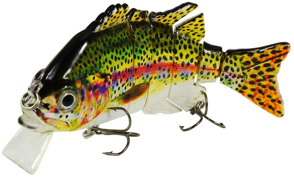 Rose Kuli Multi-Jointed Bass Swimbait