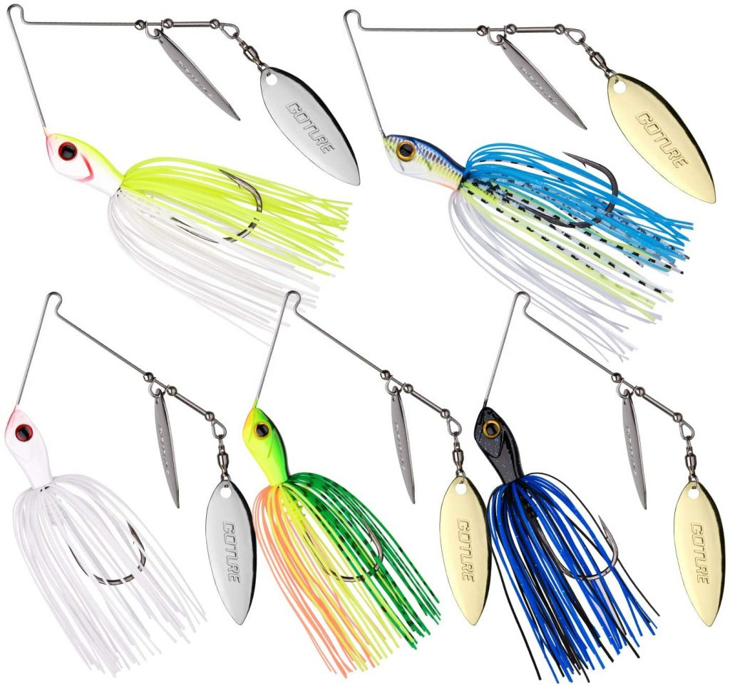 Goture Double Willow Blade Spinnerbait