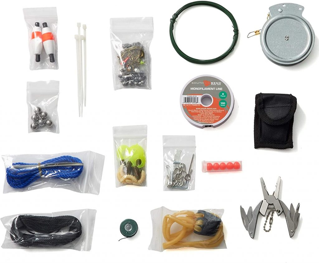 Stanford Outdoor Supply Fishing and Hunting B.O.S.S.- Bug Out Bag Survival Kit