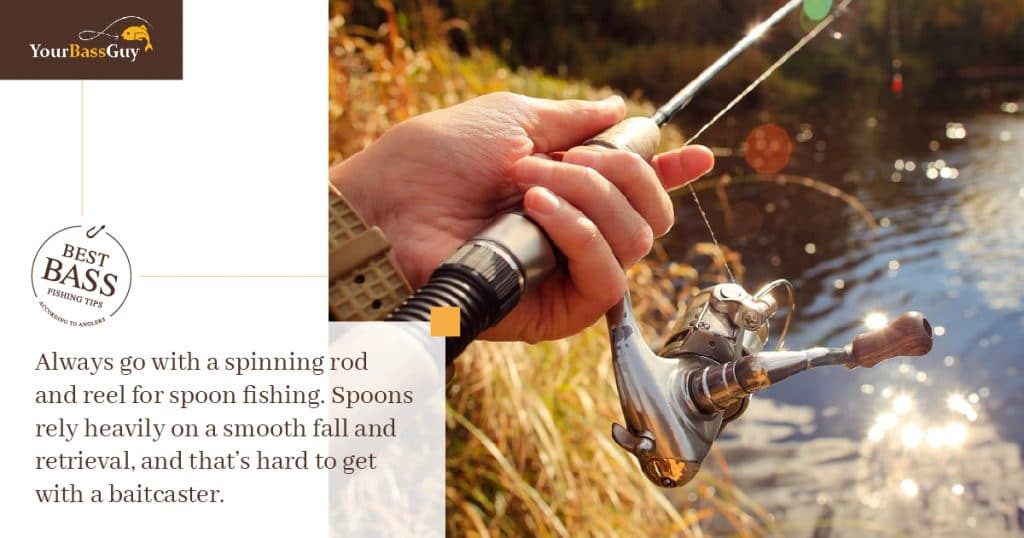 Best Rod and Reel for Spoon Fishing
