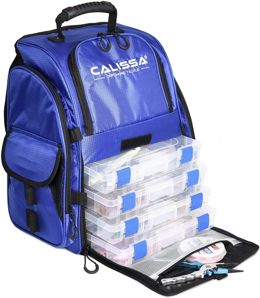 Talysc Fishing Backpack by Calissa Offshore Tackle