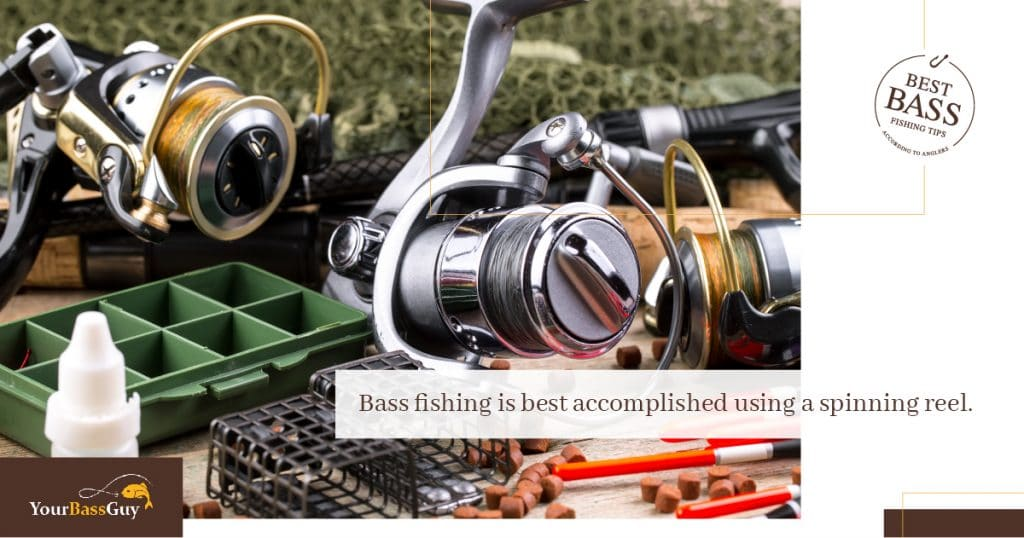 Bass fishing spinning reel cost