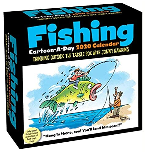 FISHING CARTOON CALENDAR