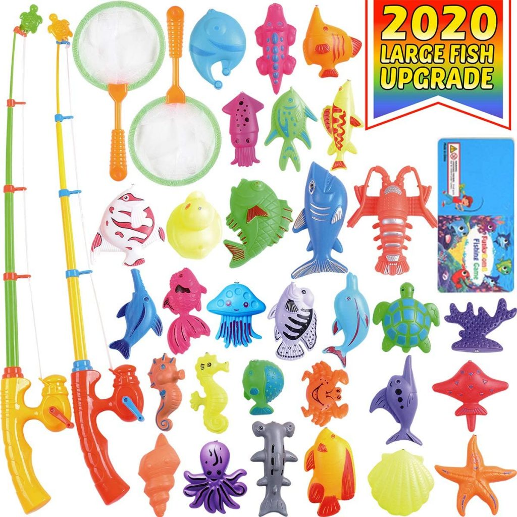 TOY FISHING SET FOR POOL OR BATH