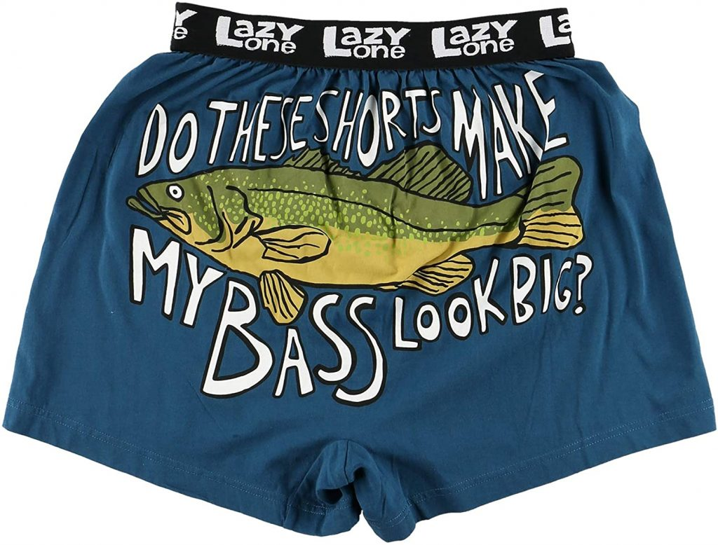 FUNNY BASS BOXERS