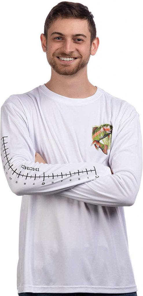 FISHING MEASURING SHIRT