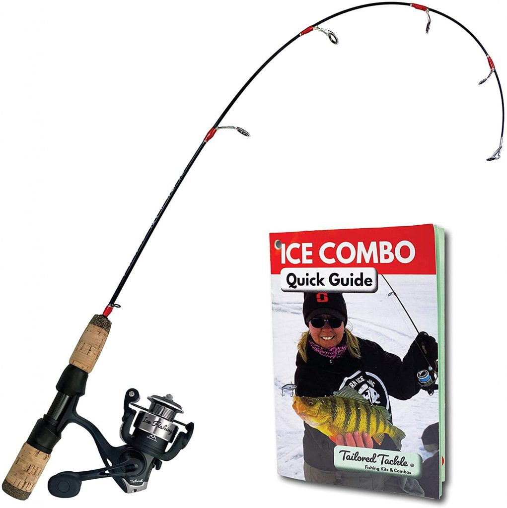 FISHING ROD AND REEL COMBO WITH GUIDE