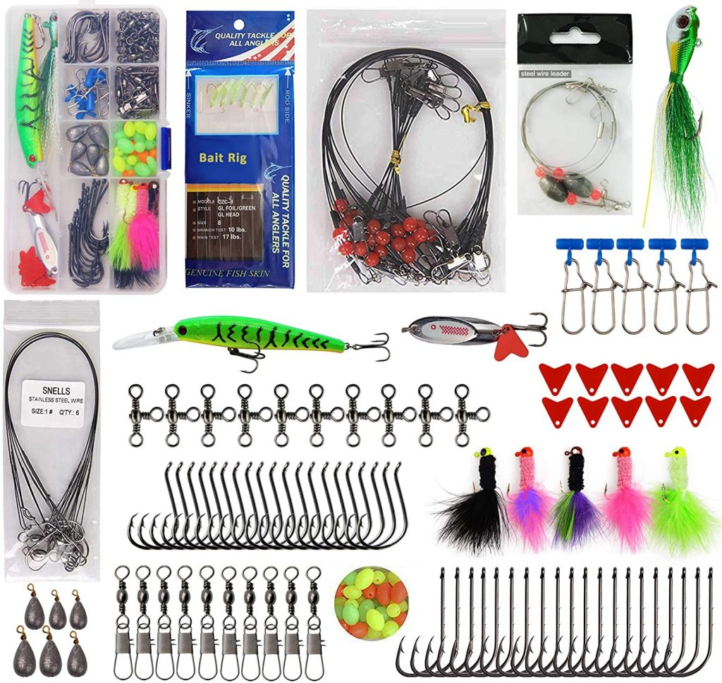 150PC SALTWATER FISHING LURE KIT