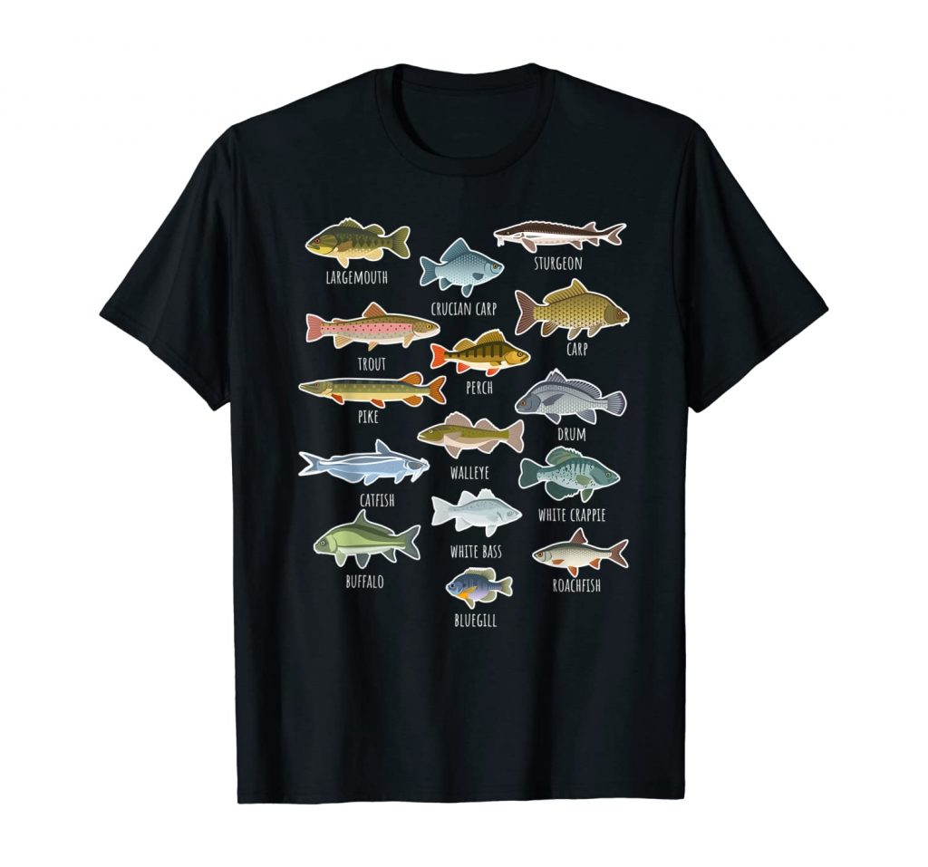 YOUTH FRESHWATER FISH SHIRT