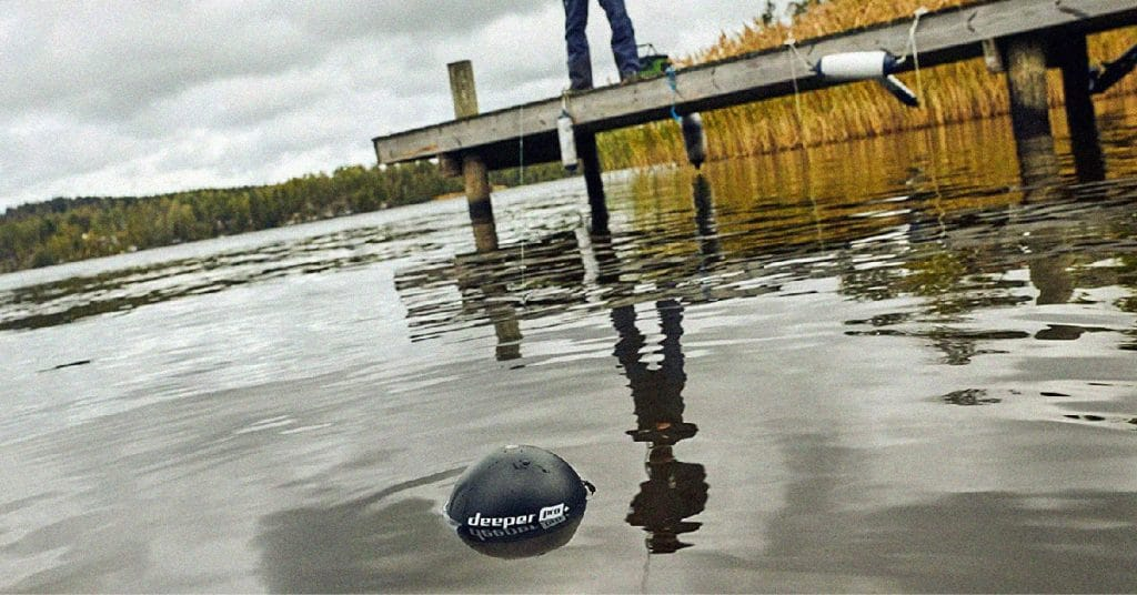 Portable fish finder for anglers on the go
