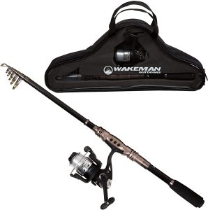 Wakeman Ultra Series Spinning Rod and Reel