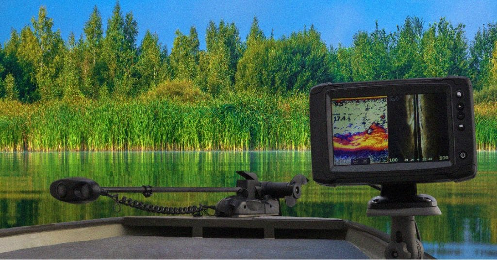 Fish finders with GPS and charts