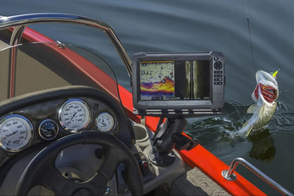 best fish finder for the money on a boat