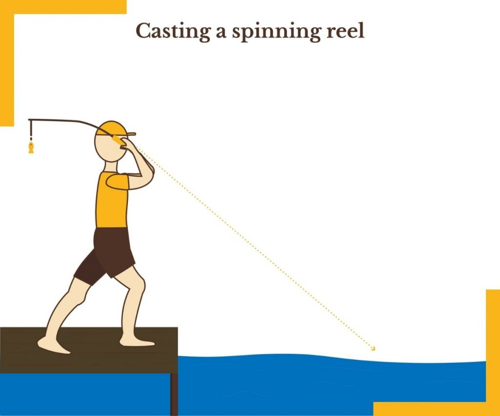 Casting a Spinning Reel