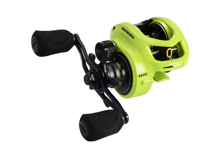 KastKing Bassinator Elite Baitcasting Reel.
