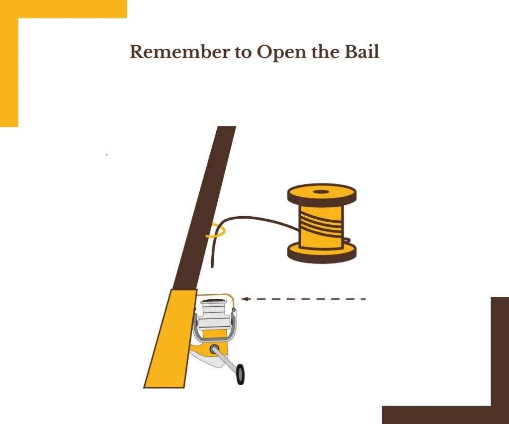 Remember to Open the Bail