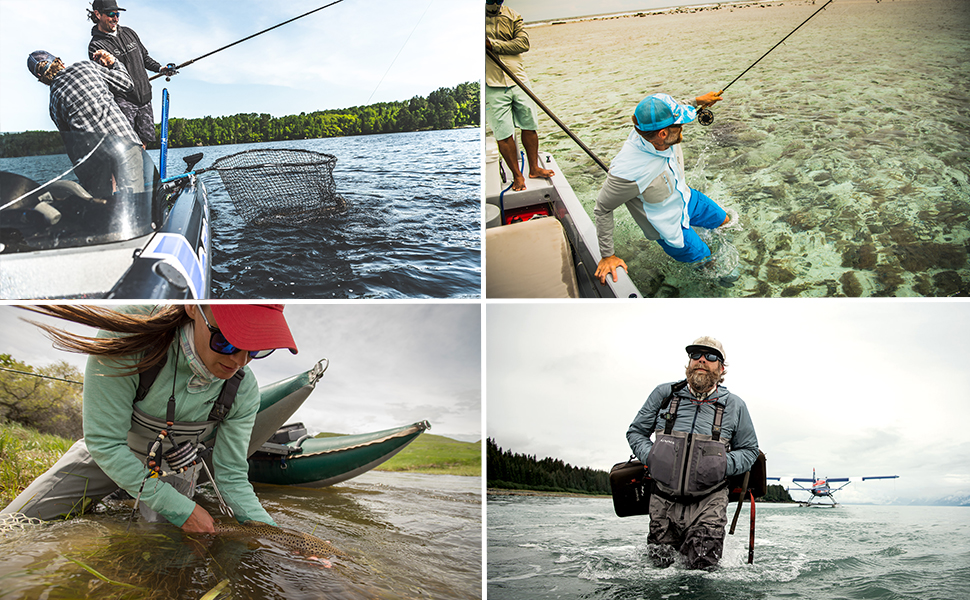 Four types of the best fishing waders