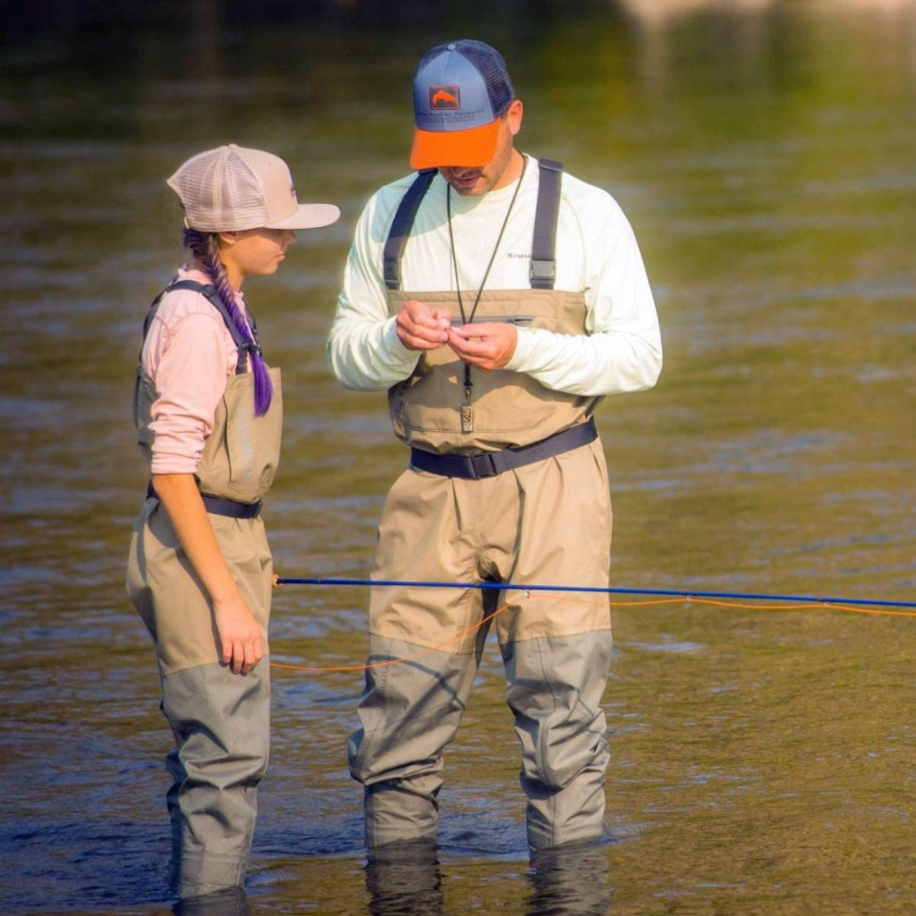 fishing with the best waders in shallow water